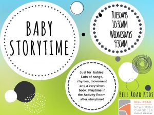 Baby Storytime @ Bell Road Children's Department | Newburgh | Indiana | United States