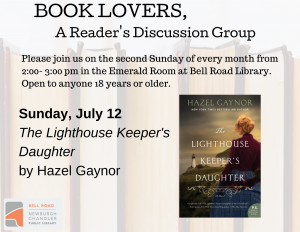 Book Lovers, A Reader's Discussion Group @ Emerald Room, Bell Road Library | Newburgh | Indiana | United States