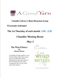 Chandler Adult Book Discussion @ Chandler Library