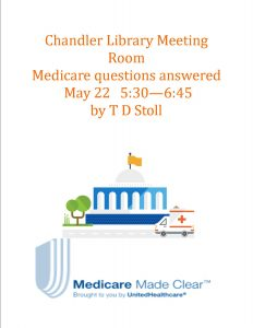 Medicare Made Clear @ Chandler Library