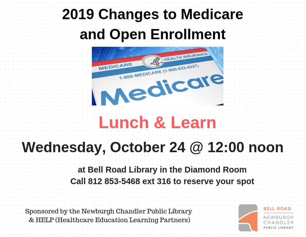 Lunch & Learn- Medicare Information - Newburgh Chandler