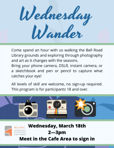 Wednesday Wander @ Bell Road Library | Newburgh | Indiana | United States