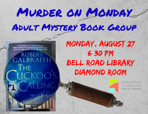 Murder on Monday @ Bell Road Library | Newburgh | Indiana | United States