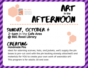 Art in the Afternoon @ Bell Road Library | Newburgh | Indiana | United States