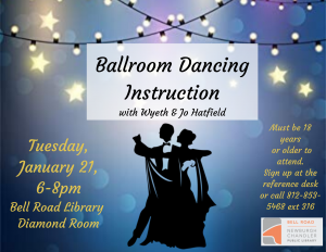 Ballroom Dancing Instructions @ Bell Road Library | Newburgh | Indiana | United States