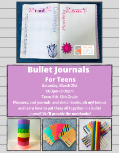 Bullet Journals for Teens @ Bell Road Library | Newburgh | Indiana | United States