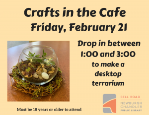Crafts in the Cafe @ Bell Road Library | Newburgh | Indiana | United States