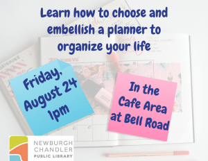 Planning Your Planner @ Bell Road Library | Newburgh | Indiana | United States