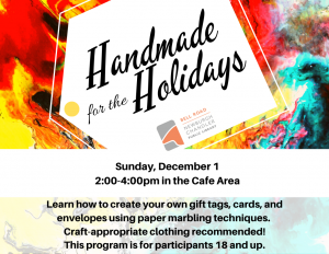 Handmade for the Holidays @ Bell Road Library | Newburgh | Indiana | United States