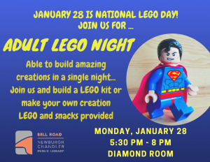 National LEGO Day @ Bell Road Library | Newburgh | Indiana | United States