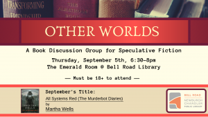 Other Worlds-Book Discussion Group @ Bell Road Library | Newburgh | Indiana | United States
