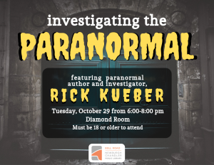 Investigating the Paranormal @ Bell Road Library | Newburgh | Indiana | United States