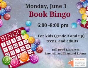 Book Bingo @ Bell Road Library | Newburgh | Indiana | United States