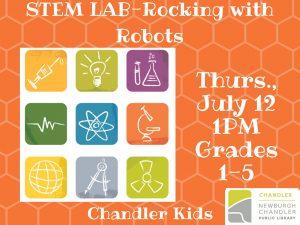 STEM Lab, gr. 1-5 @ Chandler Children's Department | Chandler | Indiana | United States