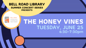 Summer Concert on the Patio- The Honey Vines @ Bell Road Library | Newburgh | Indiana | United States