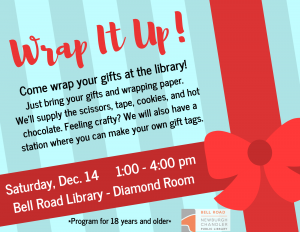 Wrap it Up! @ Bell Road Library | Newburgh | Indiana | United States