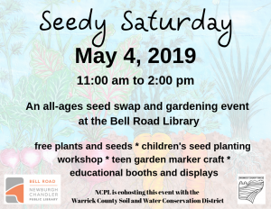 Seedy Saturday @ Bell Road Library | Newburgh | Indiana | United States