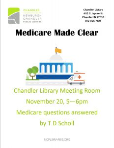Medicare Made Clear @ Chandler Library | Chandler | Indiana | United States