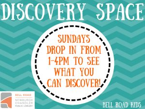 Discovery Space, ages 3-10 (drop in event) @ Bell Road Children's Department | Newburgh | Indiana | United States