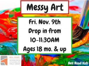 Messy Art - Dough Fun, ages 18 months and up (drop in event) @ Bell Road Children's Department | Newburgh | Indiana | United States
