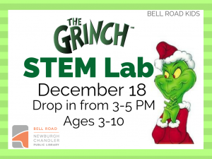 STEM Lab - The Grinch, drop in event @ Bell Road Children's Department | Newburgh | Indiana | United States