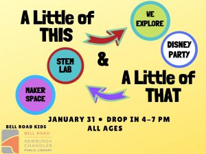 A Little of This and a Little of That! all ages (drop in event) @ Bell Road Children's Department | Newburgh | Indiana | United States