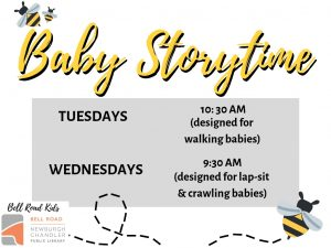Baby Storytime (up to 22 months) @ Bell Road Children's Department | Newburgh | Indiana | United States