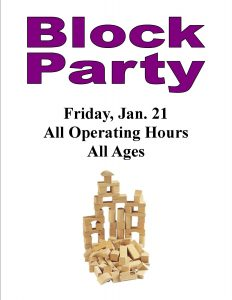 Block Party, all ages @ Chandler Library | Chandler | Indiana | United States