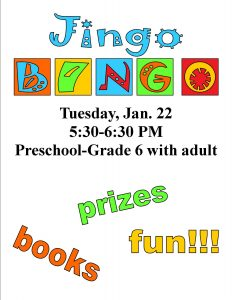 Jingo Bingo, ages 3-12 @ Chandler Library | Chandler | Indiana | United States