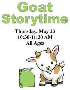 Goat Storytime, all ages @ Chandler Library | Chandler | Indiana | United States