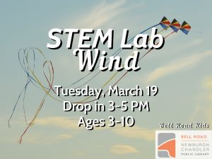 STEM Lab-Wind, ages 3-10, drop in event @ Bell Road Children's Department | Mansfield | Texas | United States