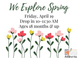 We Explore Spring, ages 18 mo. and up (drop in event) @ Bell Road Children's Department | Newburgh | Indiana | United States