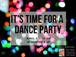 Dance Party, ages 18 mo. and up @ Bell Road Children's Department | Newburgh | Indiana | United States