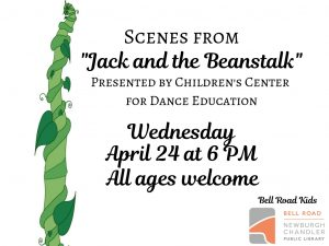 "Scenes from ""Jack and the Beanstalk,"" all ages @ Bell Road Children's Department 