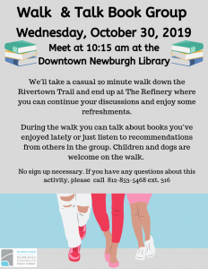 Walk and Talk Group @ Downtown Newburgh Library | Newburgh | Indiana | United States