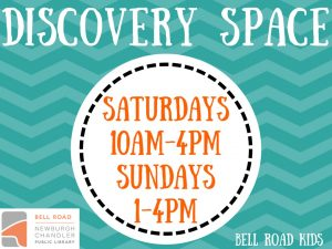 Discovery Space, all ages (drop in event) @ Bell Road Children's Department | Newburgh | Indiana | United States