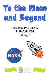 To the Moon and Beyond, all ages @ Chandler Library | Chandler | Indiana | United States