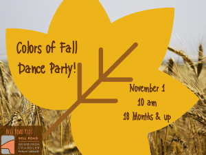 Colors of Fall Dance Party @ Newburgh Chandler Public Library | Newburgh | Indiana | United States