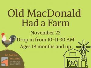 Old MacDonald Had a Farm @ Newburgh Chandler Public Library | Newburgh | Indiana | United States
