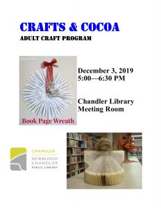 Crafts & Cocoa @ Chandler Library | Chandler | Indiana | United States