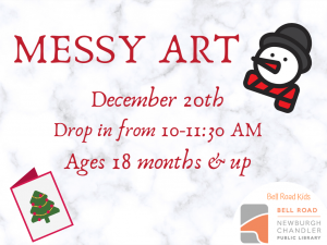 Messy Art @ Newburgh Chandler Public Library | Newburgh | Indiana | United States
