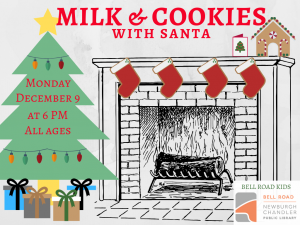 Milk and Cookies With Santa @ Newburgh Chandler Public Library | Newburgh | Indiana | United States