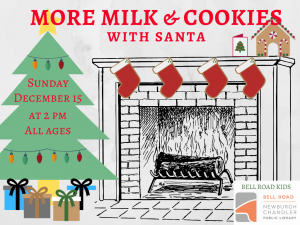More Milk and Cookies With Santa @ Newburgh Chandler Public Library | Newburgh | Indiana | United States