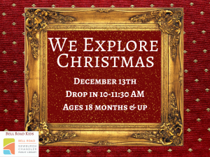 We Explore Christmas @ Newburgh Chandler Public Library | Newburgh | Indiana | United States