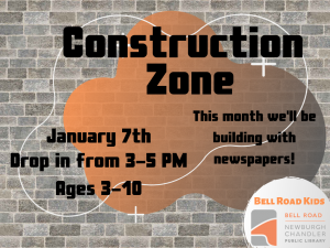 Construction Zone @ Newburgh Chandler Public Library | Newburgh | Indiana | United States