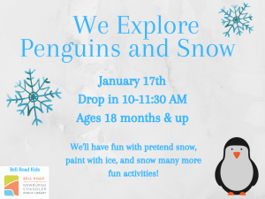 We Explore Penguins and Snow @ Newburgh Chandler Public Library | Newburgh | Indiana | United States