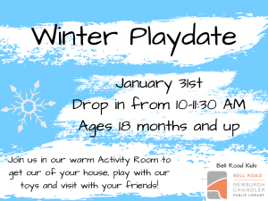 Winter Playdate @ Newburgh Chandler Public Library | Newburgh | Indiana | United States